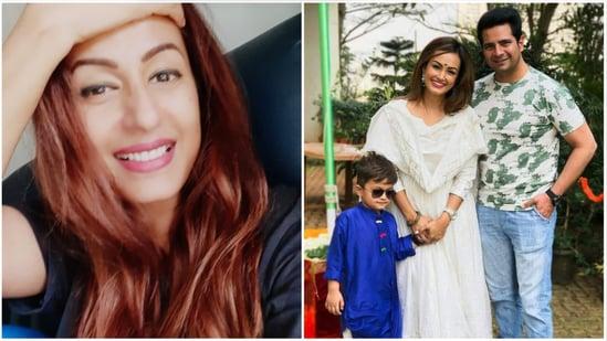 Kashmera Shah has spoken about her 'friends' Nisha Rawal and Karan Mehra.