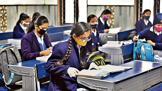 In a meeting chaired by Prime Minister Narendra Modi on Tuesday, it was decided that the CBSE will take steps to compile the results of class 12 students as per a well-defined objective criteria in a time-bound manner.(Raj K Raj/HT file)