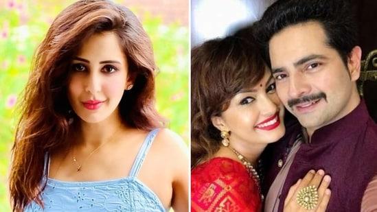 Chahatt Khanna reacted to Karan Mehra and Nisha Rawal's domestic violence controversy.