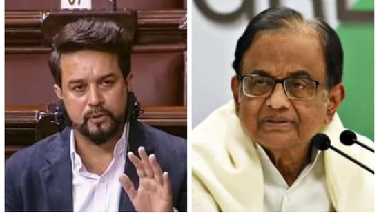 Senior Congress leader P Chidambaram said 2020-2021 is the darkest year of the economy in four decades. Finance minister of state Anurag Thakur gave a sharp reply.