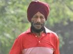 Milkha Singh: File photo(HT_PRINT)
