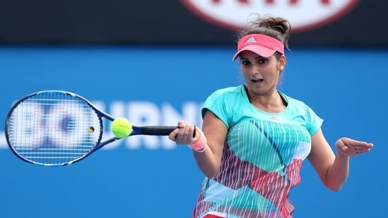 Sania Mirza of India(Getty Images)