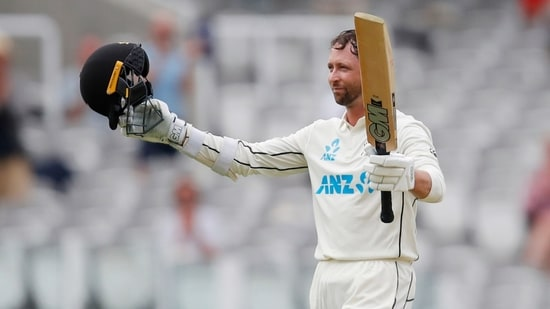 Devon Conway during England vs New Zealand 1st Test at Lord's (Action Images via Reuters)