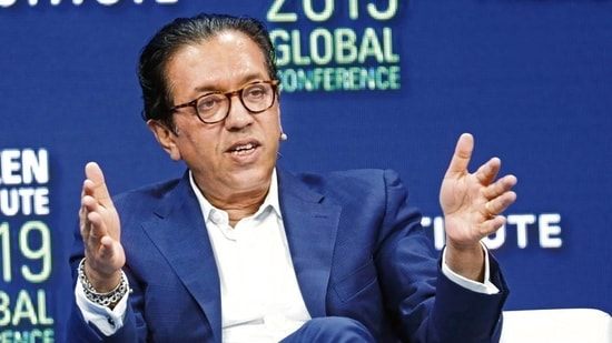 SoftBank Vision Fund CEO Rajeev Misra. (Bloomberg)