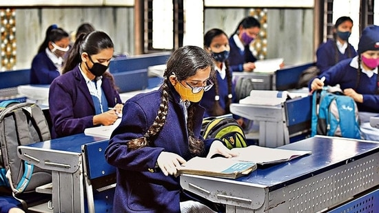 The Centre on Tuesday cancelled the CBSE Class 12 examinations and ended uncertainty for roughly 1.4 million students who were to appear in them.(Raj K Raj/HT Photos)