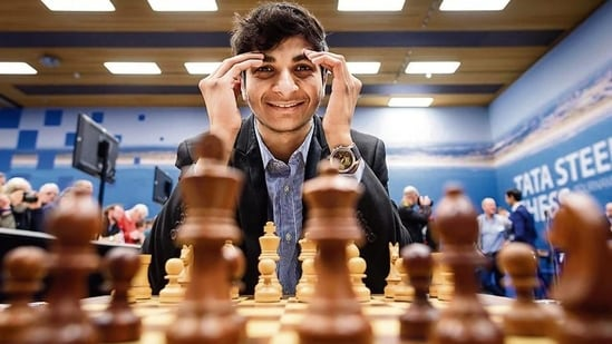 Chess grandmaster Vidit Gujrathi: File photo(HT Archive)