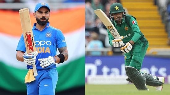 Virat Kohli (L) and Babar Azam. (Getty Images)