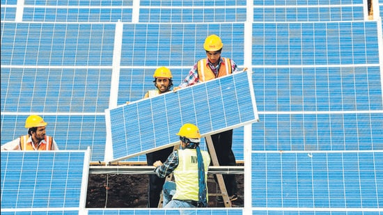 Solar energy could be India's salvation. With about 300 sunny days a year, India has the potential to lead the world in solar electricity. (File photo)