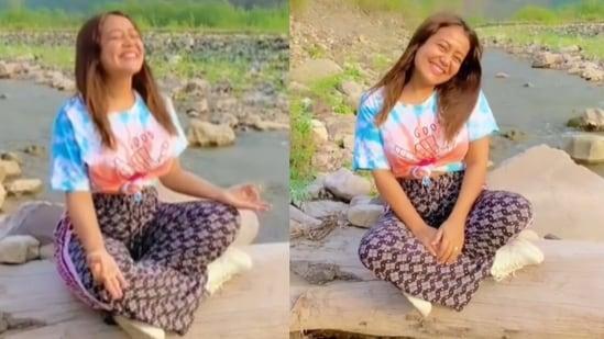 Neha Kakkar shared a throwback video from Uttarakhand.