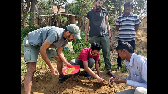 Delhi-NCR residents from different age groups are trying to conserve the environment through different initiatives.
