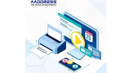 Aaddress.in virtual offices are business centres and co-working spaces with all the amenities like conference rooms, workstations, internet, and cafeteria.