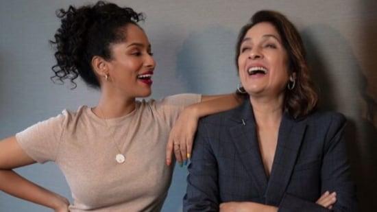 Neena Gupta with her daughter Masaba Gupta.