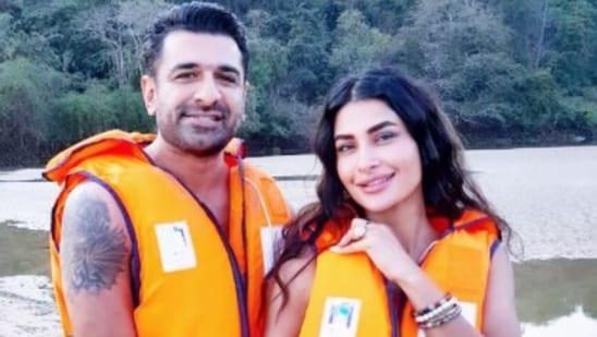Pavitra Punia with her boyfriend Eijaz Khan.