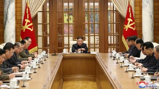 North Korean leader Kim Jong Un.(via REUTERS)