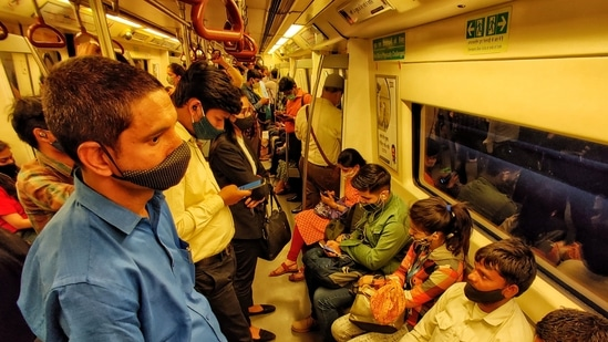 Delhi chief minister Arvind Kejriwal announced several relaxations in lockdown rules in the Capital. (Sanchit Khanna/HT Photo)