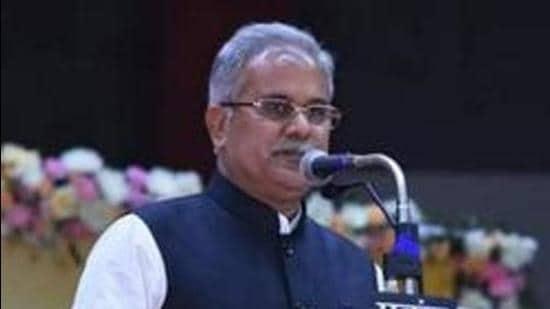 File photo: Chhattisgarh chief minister Bhupesh Baghel. (HT Photo)
