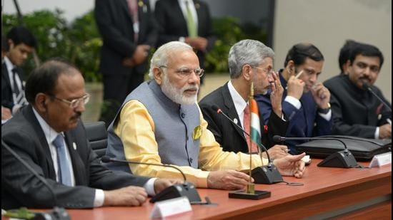 The challenge for India is to rise above ideological preferences and policy conservatism to adopt strategies that advance politically inclusive politics in Afghanistan and Myanmar. That's the only sustainable answer to the rising assertiveness of China and Pakistan, both of whom have fuelled discord in whichever country they have sought influence in (Presidencia de la República Mexicana via Wikimedia Commons)