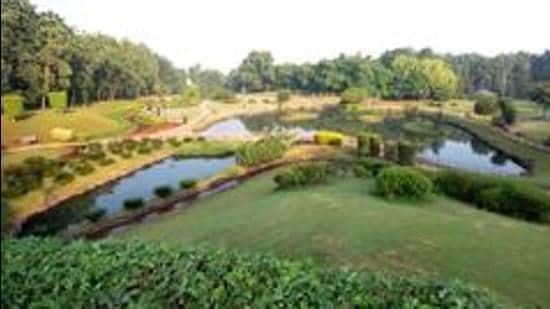 Okayama Friendship Garden or PuLa Deshpande Udyan on Sinhagad Road. (HT PHOTO)