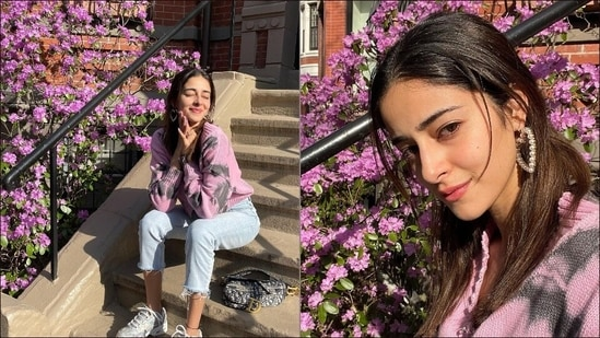 Ananya Panday beats summer heat with 'flower power' and we are loving her street style(Instagram/ananyapanday)