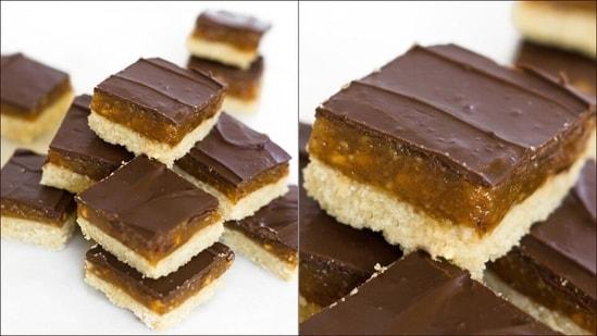Recipe: Vegan Millionaire's Bars need just 7 healthy ingredients, 30 minutes(Instagram/thecookingrx)