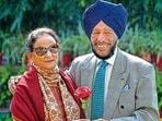 Milkha Singh's wife Covid-19 positive Nirmal Kaur (82), however,