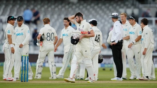 England v New Zealand: England's Dom Sibley walks off the pitch at the end of the test(Action Images via Reuters)