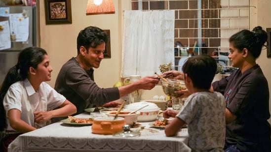 Manoj Bajpayee and Priyamani in The Family Man 2.