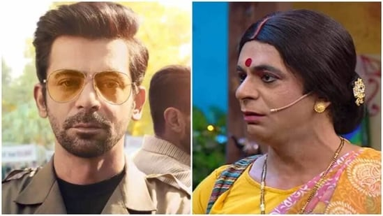 Sunil Grover rose to fame for playing multiple female characters on TV comedy shows.