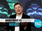 'Anonymous' asked Elon Musk to 'expect' them (Agencies)