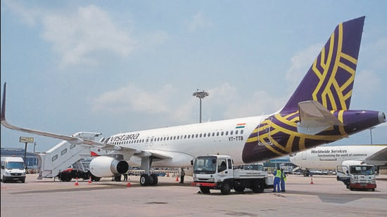 Three people travelling on Vistara flight UK-775 were taken to hospital after the flight landed in Mumbai-Kolkata flight landed in Bengal. They were among the 8 injured due to air turbulence. (Reuters)