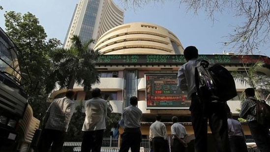 The benchmark BSE Sensex gained 228.46 points or 0.44%, closing at 52,328.51, while the Nifty gained 81.40 points or 0.52%, closing at 15,751.65.(Reuters)