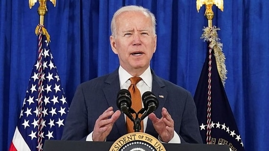 Congressman Adam Smith lauded President Biden for the steps taken to assist countries that need help.(REUTERS)