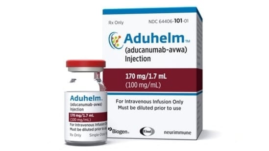 The FDA said that the clinical trials for the treatment, to be sold under the brand name Aduhelm, showed a reduction in the plaques that is expected to lead to a reduction in the clinical decline of patients.(AP)