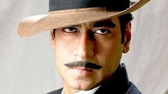 Ajay Devgn played Bhagat Singh in the Rajkumar Santoshi film.