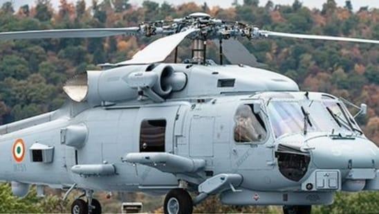 File photo: MH-60R chopper(Twitter/@LMIndiaNews)
