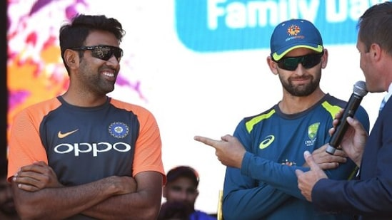 File Photo of R Ashwin (left) and Nathan Lyon.(Getty Images)