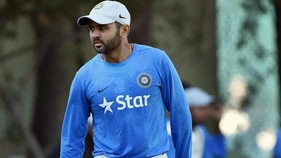 File image of Parthiv Patel.(PTI)