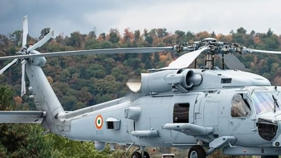 The government-to-government contract for the helicopters is worth around <span class='webrupee'>₹</span>17,500 crore.