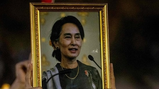 Aung San Suu Kyi's trial will start on June 14 and is expected to wrap up by July 26, according to her legal team.(File photo)