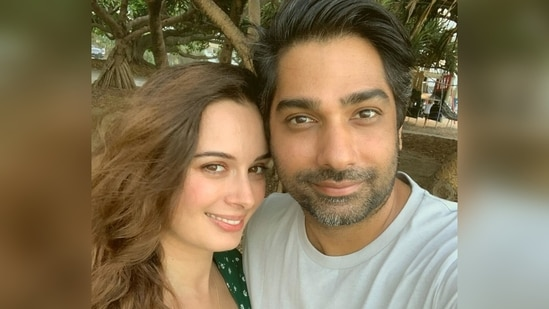 Evelyn Sharma and Tushaan Bhindi got married on May 15.