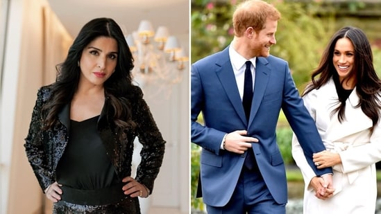 Maheep Kapoor criticised Prince Harry and Meghan Markle's interview with Oprah Winfrey.