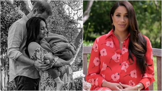 Meghan Markle welcomes second child, here's a look at her pregnancy fashion