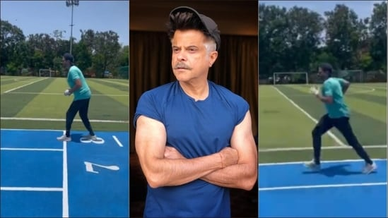 Anil Kapoor is high on elixir of youth and his run in new fitness video is proof(Instagram/anilskapoor)