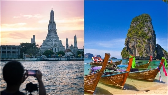 Thailand gears up to reopen Phuket for vaccinated tourists from July 1(Photos by Gareth Harrison and Sumit Chinchane on Unsplash)