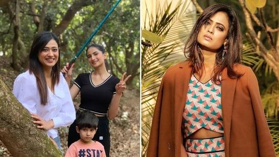 Shweta Tiwari has two children - Palak and Reyansh.