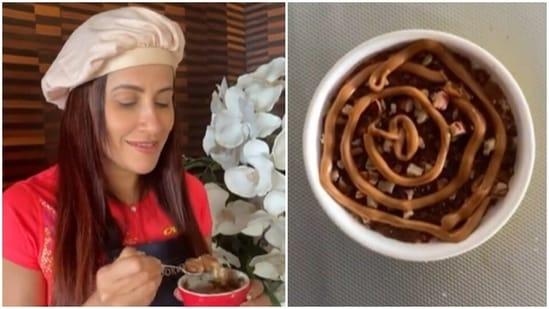 Recipe: End your Monday on a healthy note with Yasmin Karachiwala's cinnamon roll cake(Instagram/yasminkarachiwala)