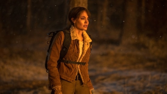 Those Who Wish Me Dead movie review: Angelina Jolie in a still from Taylor Sheridan's new film. (AP)