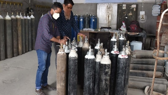 The Delhi government plans to install 57 oxygen plants, including eight pressure swing adsorption (PSA) plants sanctioned by the Centre, to meet the oxygen requirement in the days to come.