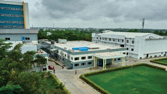 Bharat Biotech, which is one of the major Covid-19 vaccine manufacturers in the country and produces Covaxin, has its registered office and plant in Genome Valley in the Shameerpet area of Telangana's capital city Hyderabad.(Bharat Biotech)
