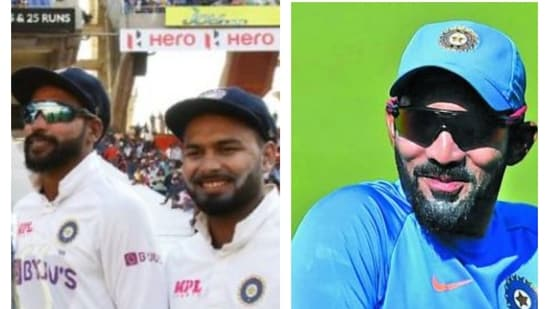 Dinesh Karthik has picked one young India youngster who he thinks will play 100 Tests.(File/HT Collage)